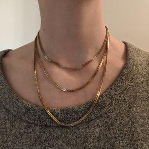 Jewelry - Wear 3 ways - Gold chain necklace